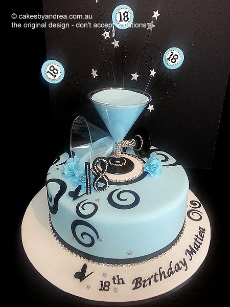 18th-birthday-cake-blue-martini-glass-swirl