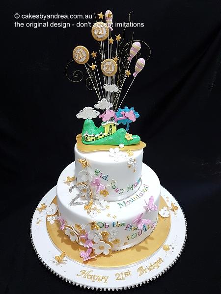 21st-birthday-dr-seuss-gold-diamante-2-tier