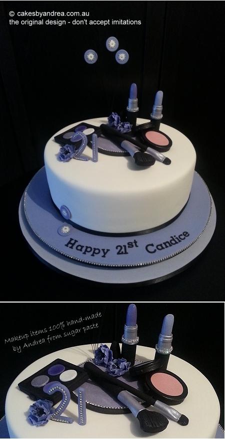 21st-cake-makeup-white-mauve