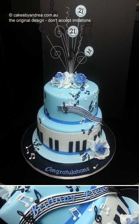 21st-burthday-cake-music-notes-piano-roses-blue