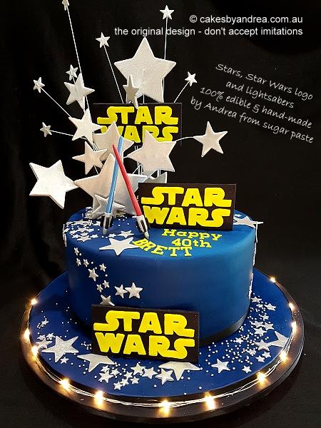 40th-birthday-cake-star-wars-theme