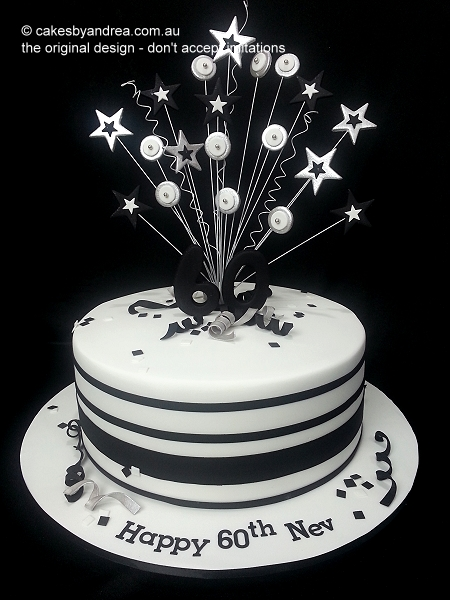 60th-birthday-cake-male-black-white-bands