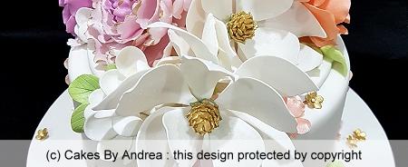 anniversary-cake-brisbane-magnolias-peonies-roses
