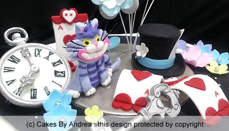 birthday-cake-alice-in-wonderland-theme