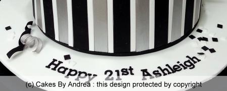 birthday-cake-guy-girl-stripes-black-white-silver-confetti