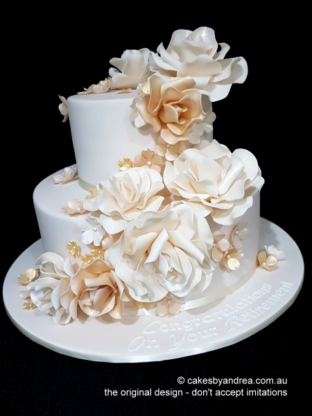 celebration-cake-retirement-ivory-roses