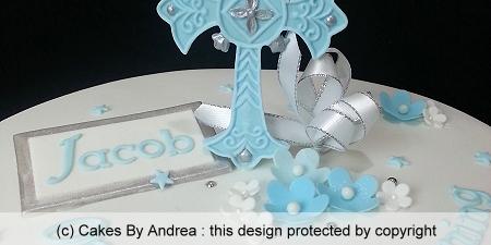 christening-cake-blue-cross-plaque