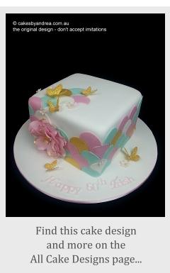 Brisbane cake design