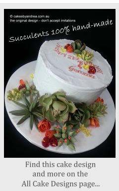Brisbane birthday cakes