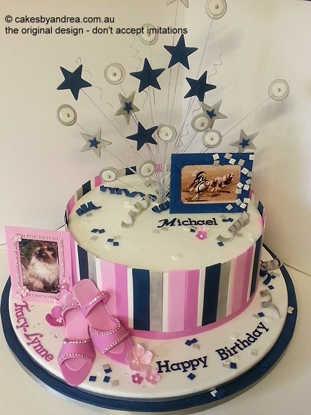 his-hers-birthday-cake-pink-denim-blue-stripes