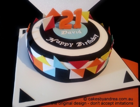 male-geometric-21st-birthday-cake