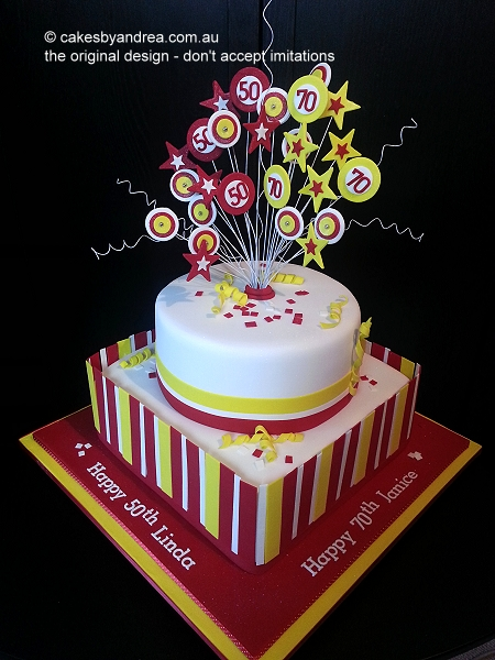 red-yellow-white-stripes-birthday-cake