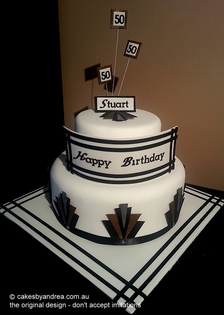 art-deco-birthday-cake-2-tier