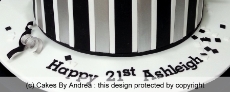 birthday-cake-guy-girl-stripes-black-white-silver-confetti