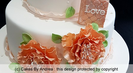 birthday-celebration-cake-vintage-flowers-ruffle-peach-tones