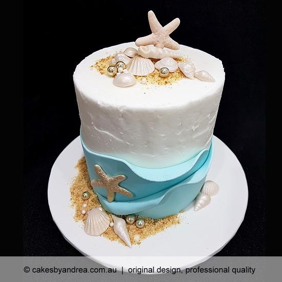 budget wedding cake engagement birthday celebration cake beach sea side