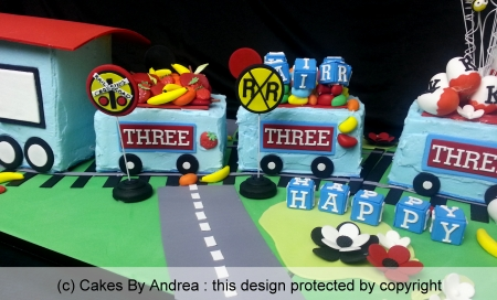 childrens-train-cake