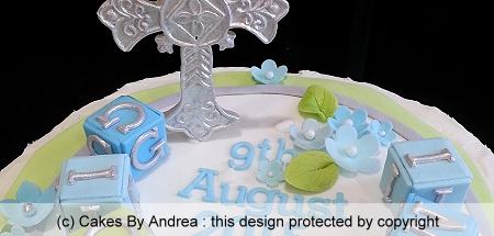 christening-cake-silver-cross-name-blocks